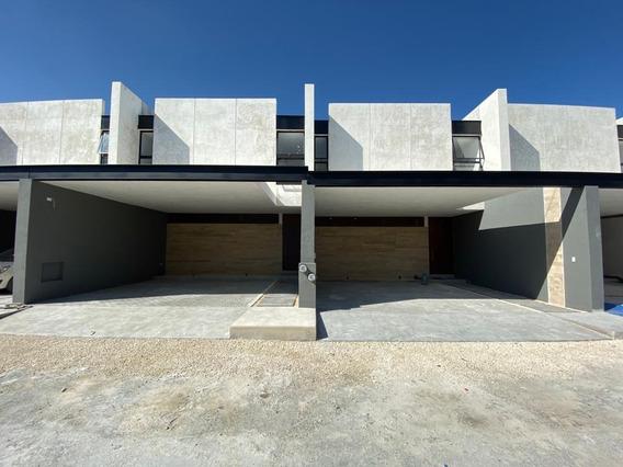 Venta Townhouse Nuevo En Temozon Norte