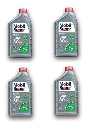 Oleo Para Motor + Filtro Oleo Toyota Fielder 1.8 16v 136cv