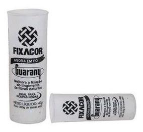 Fixa Cor Para Tecidos Em Pó 40g Guarany - 6 Peças