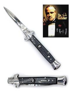 Canivete Automático Italiano Máfia 20cm, Excelente - C/ Nfe