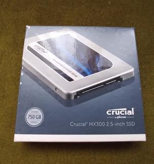 Disco Duro Ssd Crucial Mx300 750gb 2.5 In, N U E V O