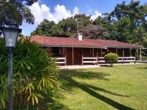 Chácara Com 3 Dormitórios À Venda, 20.000 M² Por R$ 820.000 - Jardim Monte Verde (caucaia Do Alto) - Cotia/sp - Ch0076