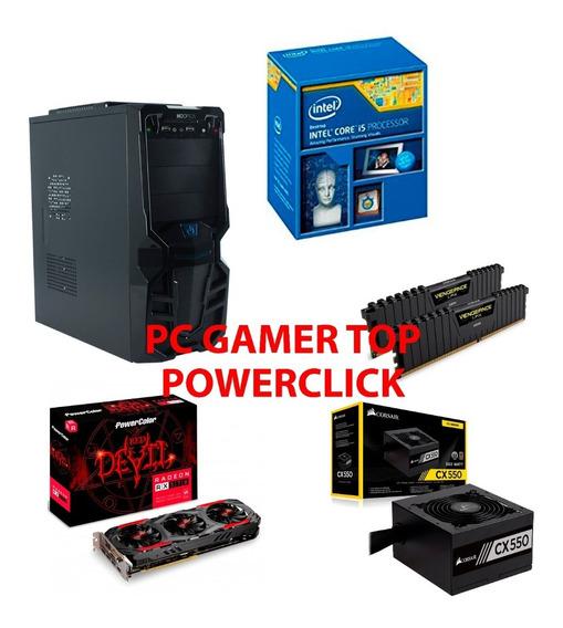 Computador Gamer I5 4570 Rx 570 4gb Hd1tb 8gb Ram