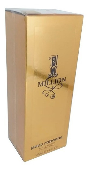 Perfume One Million 200ml Edt Paco Rabanne - Original!! + Nf