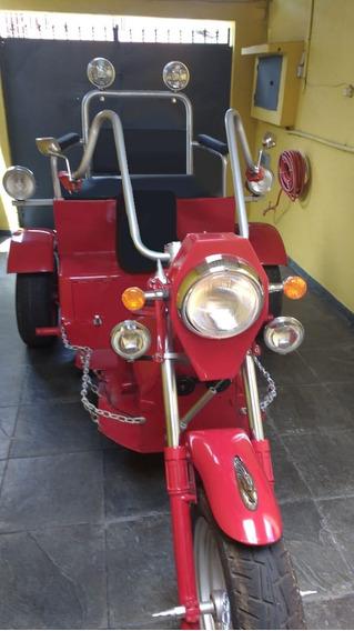 Triciclo Único Modelo Para Colecionador E Motociclista