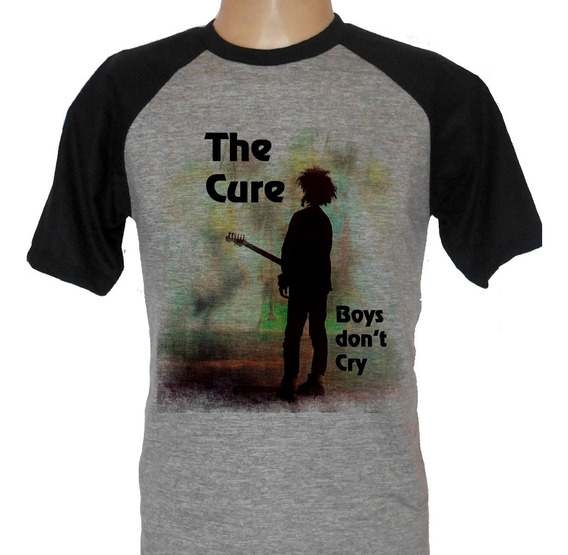 Camiseta Raglan Banda The Cure Boys Don