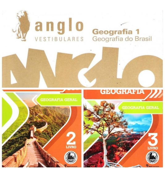 Anglo Medicina - Geografia Teoria + Exercícios