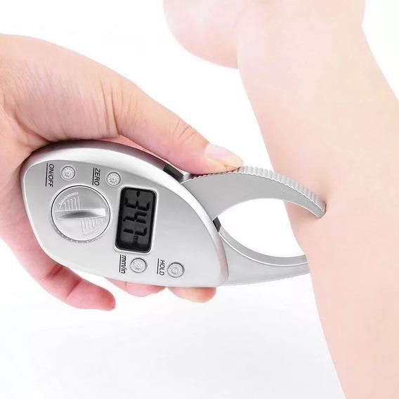 Plicometro Digital Pinza Indicador De Grasa Corporal