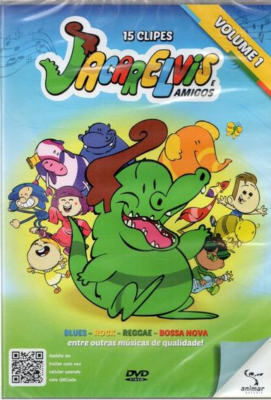 Dvd Jacarelvis E Amigos Vol 1 15 Clipes Original Lacrado