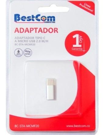 Adaptador Bestcom Microusb A Usb C Adaptador Bestcom Tk780