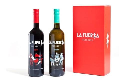 Imagen 1 de 5 de Caja 2 Botellas La Fuerza Mix (1 Rojo + 1 Blanco)