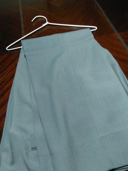 Pantalon De Vestir Hombre - Talle 52 - Color Gris