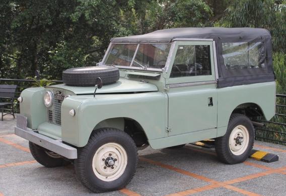 Land Rover Serie Ii Santana 100% Original