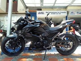 Kawasaki Z250 Modelo 2018 Como Nueva Aprobación Inmediata