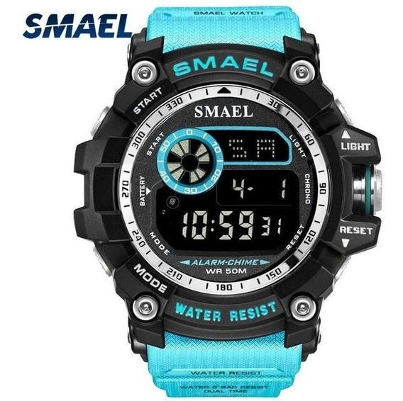 Relógio Smael Militar Esportivo Original Prova D Água