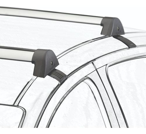 Barras De Techo Chevrolet  Prisma Aluminio Gris Plata