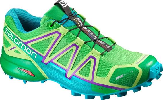 Zapatilla Mujer Salomon Speedcross 4 Cs W 383095