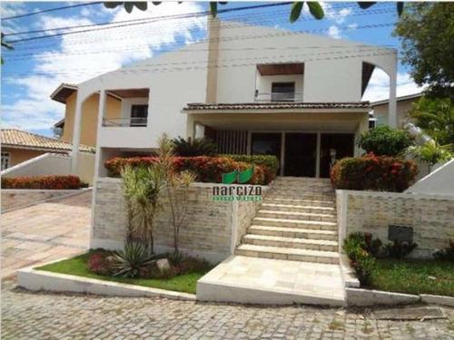 Casa Com 4 Dormitórios À Venda, 380 M² Por R$ 1.450.000,00 - Buraquinho - Lauro De Freitas/ba - Ca0714