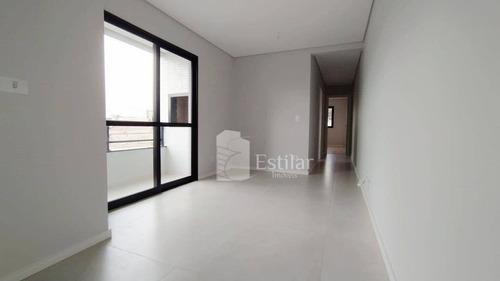 Imagem 1 de 30 de Apartamento 02 Quartos (01 Suíte) No Silveira Motta, São José Dos Pinhais - Ap3438