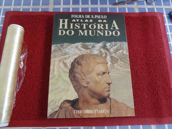 Livro Usado Atlas Da Historia Do Mundo