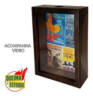 Porta Rolhas Tampinha Filmes Antigos Cinema Retrô Mdf Queima