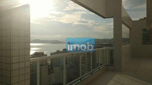 Imagem 1 de 27 de Apartamento À Venda, 100 M² Por R$ 1.070.000,00 - Boqueirão - Santos/sp - Ap8058