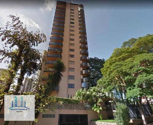 Imagem 1 de 30 de Apartamento Com 4 Dormitórios À Venda, 240 M² Por R$ 2.300.000,00 - Moema - São Paulo/sp - Ap2856