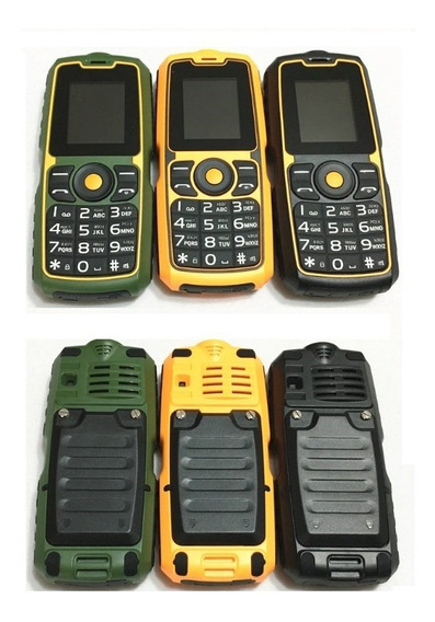 Celular Uso Rudo Xp9900 Teclas Grandes Resiste Caidas - T171