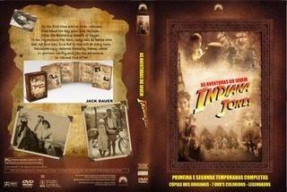 Jovem Indiana Jones- Dub E Leg-digital-maior Coleção-25 Dvds