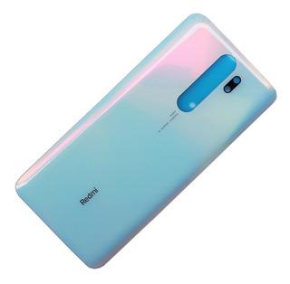 Tampa Traseira De Vidro Xiaomi Redmi Note 8 Pró +película 3d