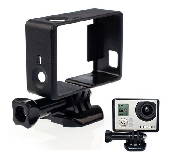 Marco Frame Skeleton Gopro 3/3+ Y 4 + Base + Tornillo.
