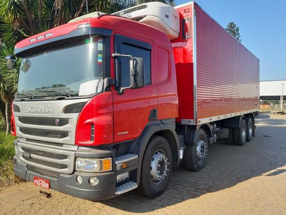 Scania P310 4 Eixo Ano 2016 Bau Frigorifico