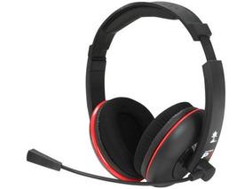 Fone Headset Headphone Turtlebeach Ear Force P11 Pc/ps3/mac