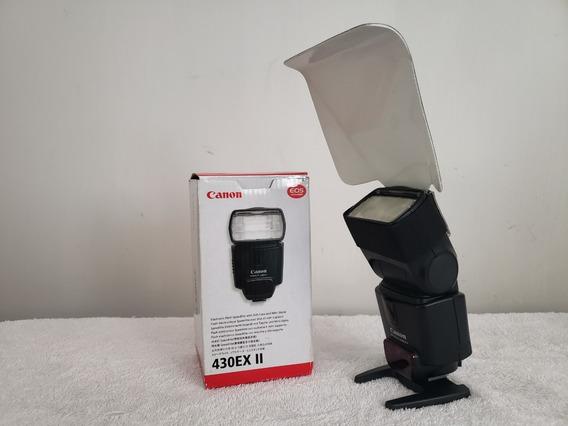 Flash Canon Speedlite 430ex Ii C/ Rebatetor