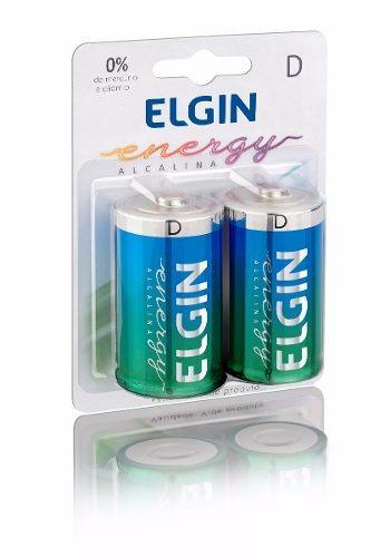 Pilhas D Alcalinas Blister Com 2 82157 Elgin