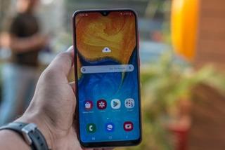 Celular Samsung A20 Impecable Como Nuevo Con Caja