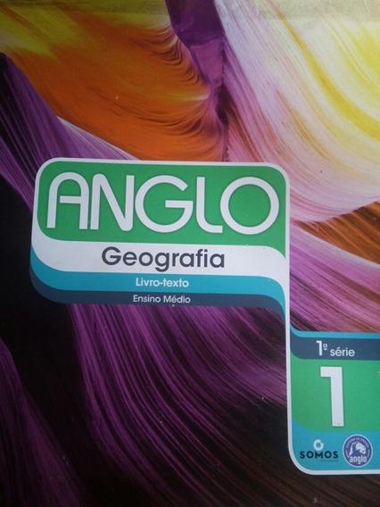 Anglo Geografia Ensino Médio 1 Série Frete Grátis.