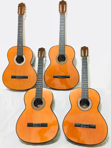 Guitarras Acusticas Clasicas Natural+forro+metodo+envio