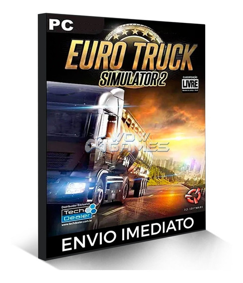 Euro Truck Simulator 2 Pc Steam Key - Jogo Original Online