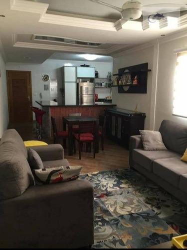 Apartamento Com 3 Dormitórios, Sendo 1 Suíte, À Venda, 100 M² Por R$ 480.000 - Vila Pires - Santo André/sp - Ap3526