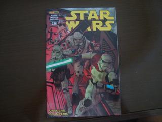 Hq Star Wars Nº 36 Panini - Orgulho Do Império