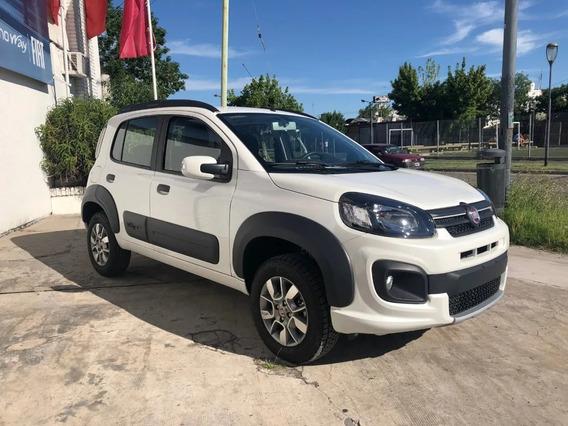 Fiat Uno Way 1.3 0km Gnc Retira $90.000 Y Cuotas $8.800 A-