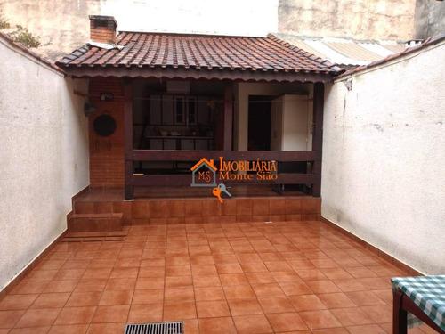 Imagem 1 de 17 de Sobrado Com 3 Dormitórios À Venda, 120 M² Por R$ 530.000,00 - Jardim Santa Cecília - Guarulhos/sp - So0717