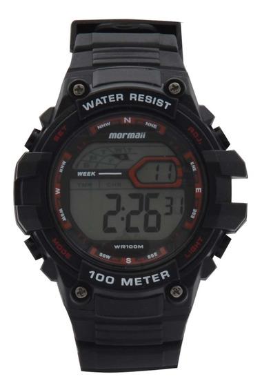Relógio Mormaii Mo3480a/8r Preto - Cor: Preto - Tamanho: Úni