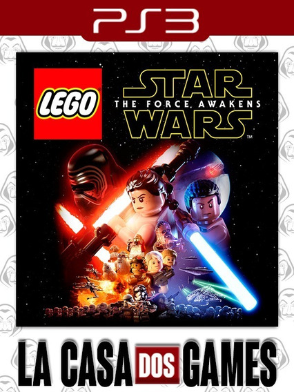 Lego Star Wars The Force Awakens - Psn Ps3 - Envio Imediato