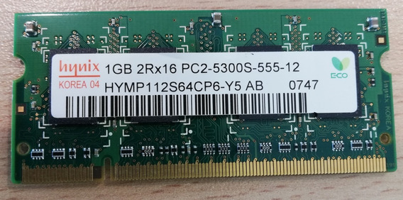 Memoria Notebook Sodimm Ddr2 1gb - Oferta!!