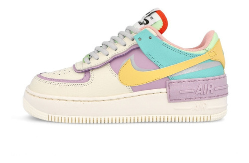Ru esposas enjuague  Nike Mujer Air Force 1 Low Shadow Pale Ivory | Mercado Libre
