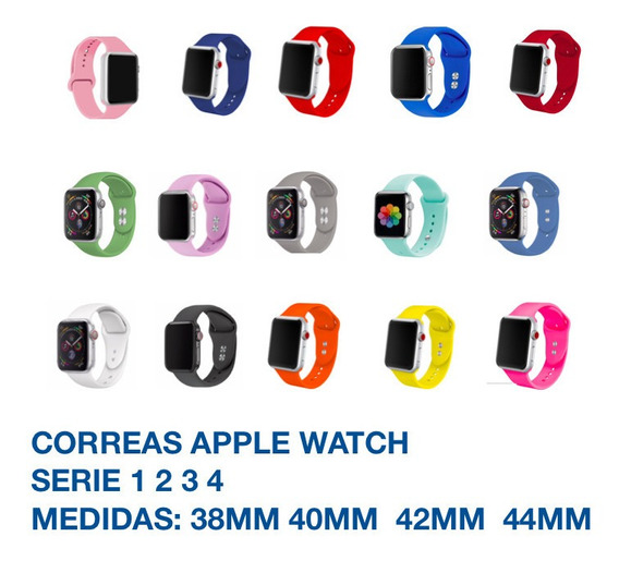 Correa Extensible Apple Watch Reloj Iwatch Serie 1 2 3 4 5