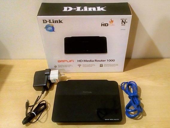 Dlink Hd Media Router: Aprimore A Rede Com Recursos De Mídia