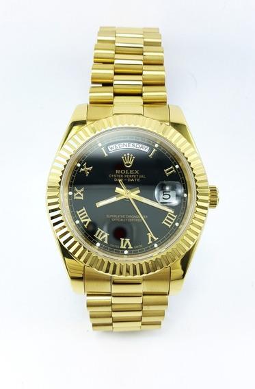 Relógio Day Date - Algarismo Romano